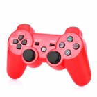 GOIGAME Rechargeable Bluetooth Wireless DoubleShock III Controller für PS3 - Rot