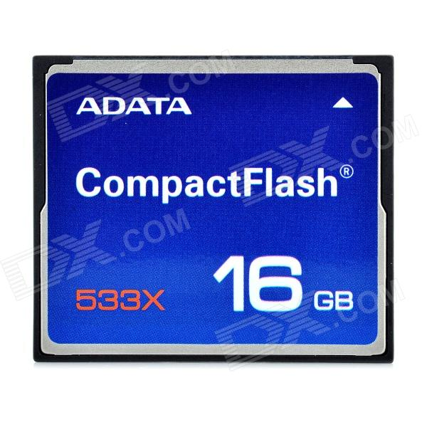 ADATA Compact Flash CF Memory Card - 16GB (533X)