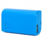 External 2600mAh Emergency Power Battery Charger for iPhone / Cell Phone - Blue