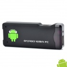 AK802 Mini Android 4.0 Network Media Player w/ Wi-Fi / HDMI / TF / USB - Black (4GB / 512MB DDR III)