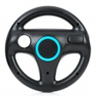 Plastic Racing Steering Wheel Controller for Wii - Black