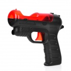 Shooting Equipment Gun Pistol Adapter for Motion Controller PS3 Move - Black + Red