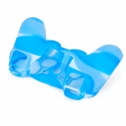Protective Silicone Cover Case for PS3 Controller - Camouflage Blue