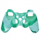 Protective Silicone Cover Case for PS3 Controller - Camouflage Light Green