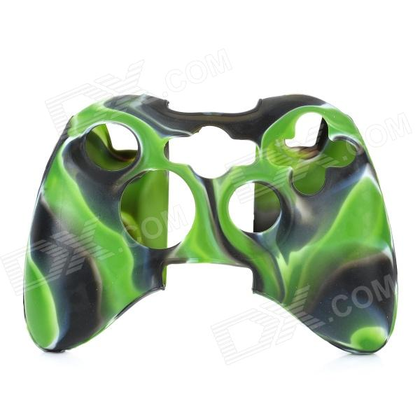 Protective Silicone Cover Case for Xbox 360 Controller - Camouflage Green protective silicone cover case for xbox 360 controller yellow blue