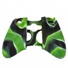 Protective Silicone Cover Case for Xbox 360 Controller - Camouflage Green