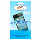 Ultra-Thin Protective TPU Skin Waterproof Cover Bag for Iphone 3gs - Transparent