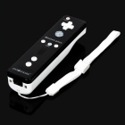 GOiGOME Nunchuck + Remote Controller w/ Motion Plus / Silicone Case for Wii - Black + White (2 x AA)