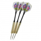 Professional Sharp Aluminum Alloy Darts Set (3-Piece/Flag of United Kingdom Pattern Flight)