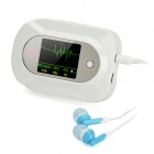 "Multifunction CMS-VE 1.8"" LCD Digital Visual Stethoscope - White"