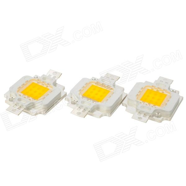 DIY 10W 3050K 900LM Warm White Light 3 x 3 9-LED Module (DC 9~11V / 3-Pack) туалетная вода davidoff game intense 60 мл
