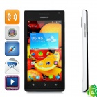 "Huawei U9200 Android 4.0 WCDMA Cellphone w/4.3"" Capacitive, GPS, Wi-Fi and Single-SIM - Black +White"