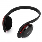 Bluedio TF500 Bluetooth V2.1 MP3 Player Stereo Headset - Red + Black