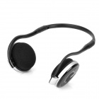 Bluedio TF600 Bluetooth V2.1 MP3 Player Stereo Headset - Silver + Black