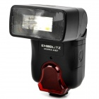 Emoblitz 828DF Universal Digital Slave Flashgun for Canon / Nikon / Olympus + More - Black (4 x AA)