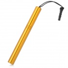 Stylus Pen with Anti-Dust Plug for Iphone / Ipad / Cell Phone - Golden