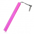 Stylus Pen with Anti-Dust Plug for iPhone / iPad / Cell Phone - Deep Pink