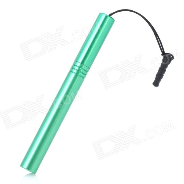 Stylus Pen with Anti-Dust Plug for Iphone / Ipad / Cell Phone - Green