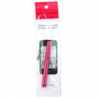 Stylus Pen with Anti-Dust Plug for Iphone / Ipad / Cell Phone - Red