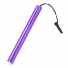 Stylus Pen with Anti-Dust Plug for Iphone / Ipad / Cell Phone - Purple