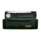 "CA740 3.0"" LED Screen Single Din Auto Car DVD Media Player w/ Controller - Black"