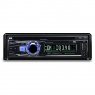 "CA760 3.0"" LED Screen Single Din Auto Car DVD Media Player w/ Controller - Black (12V)"