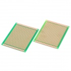Universal DIY Glass Fiber Board - Green + Golden (2-Piece Pack)
