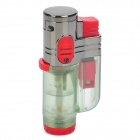2000'C Tri-Flame Butane Jet Torch Lighter - Red