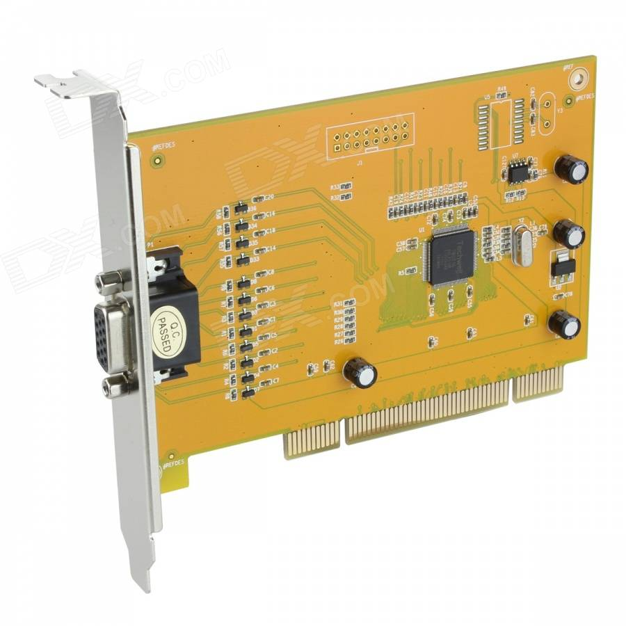 8-Channel Surveillance Security No Real-Time Video Monitoring Capture Card