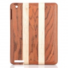 Protective Wooden Back Case for Ipad 2 / The New Ipad - Wood Color