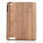Protective Wooden Back Case for Ipad 2 / The New Ipad - Walnut