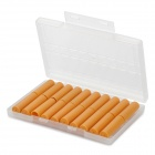 Electronic Cigarette Cartridge Refills - Tobacco Flavor (Yellow / 20-Piece)