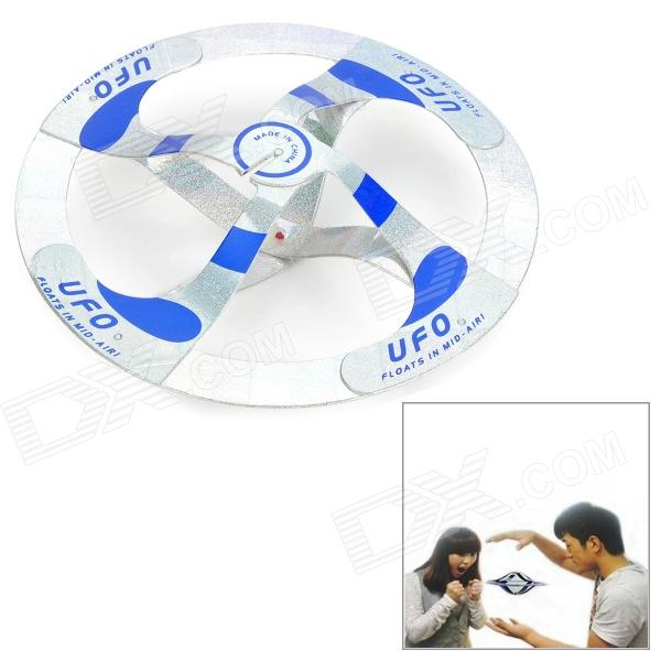 Party Magic Tricks Floating UFO - Blue + Silver