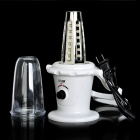 Outdoor Emergency 2800mAh Rechargeable 42-LED White Light Camping Lantern With Hook - White