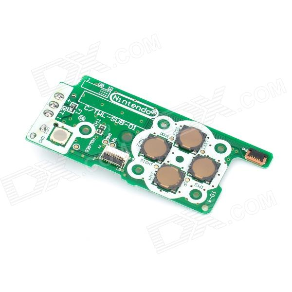 Replacement Power Switch Circuit Board for Nintendo DSi NDSi infrared thermal imaging diagnosis for pcb repair device fault diagnosis components determine circuit board short circuit
