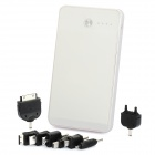 DE950 10000mAh Mobile Power Battery Charger for Samsung / iPhone / Sony Ericsson + More - White