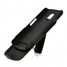 Protective Plastic Case with Belt Clip for Samsung Galaxy Nexus i9250 - Black