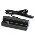 USB Charging Cradle Docking Station for HTC ONE X / S720e - Black