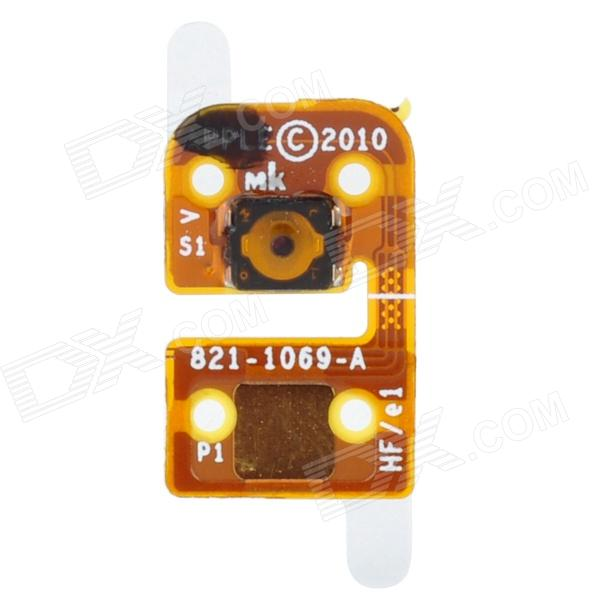 Replacement Home Button Flex Cable for Ipod Touch 4 - Golden