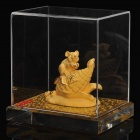 Gold Casting Display Decoration Collection Gift - Chinese Zodiac Rat