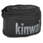 Cotton Sports Boxen Karate Trainings Bandage / Hand Wraps - Schwarz (Paar)