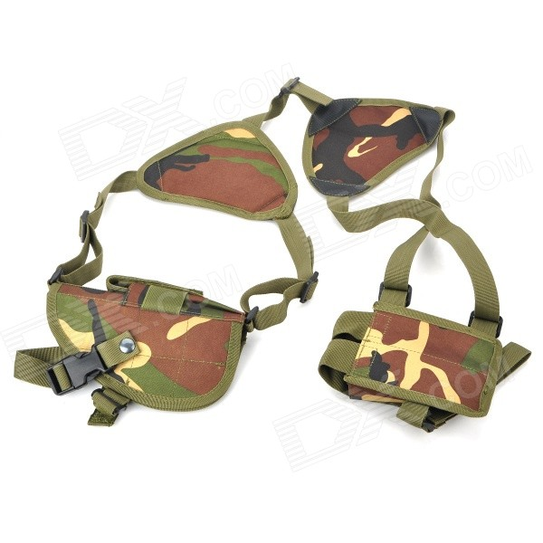 Military Jungle Camouflage Gun Pistol Holster