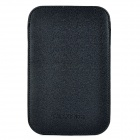 Protective Genuine Leather Case Pouch for Samsung Galaxy Note i9220 - Black
