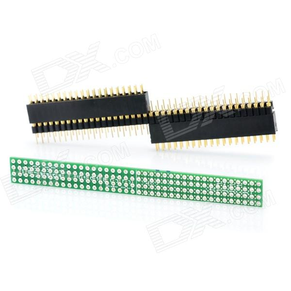 Breadboard Strip + 39pos-Breadboard Adapter Kit 1pcs serial ata sata 4 pin ide to 2 of 15 hdd power adapter cable hot worldwide