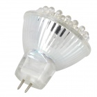GU4 2.5W 216~252LM 3000~3500K Warm White Light 36-LED Cup Bulb (12V)