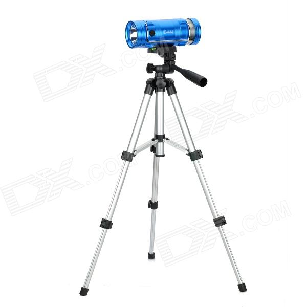 Rechargeable 5W Blue & White Light Source Fishing Light with Tripod Stand - Blue skyfire night fishing light lamp rechargeable 30w long range 350 meter waterproof zoom blue and white light