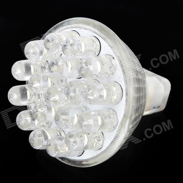 GU4 1.25W 108~126LM 3000~3500K 18-LED Warm White Light Bulb