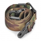 Tactical Military Rifle Gun Sling Strap - Camouflage