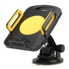 Car Swivel Mount Holder for iPad / GPS / DVD / TV - Yellow + Black