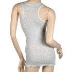 MC Soft Comfortable All Match Short COCO Vest - Grey (Size M)